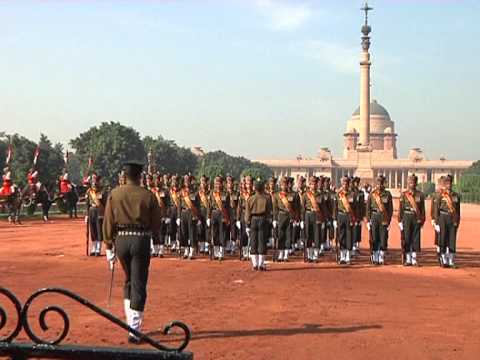 A new 'Change of Guard' ceremony was unveiled at Rashtrapati Bhavan-Part - 2 - 08-12-12