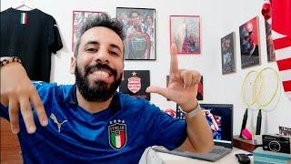 عادت إيطاليا 🇮🇹 تحقق الحلم، لا تنفع الهمجية أمام الغرينتا الإيطالية..مانشيني الانيق دوناروما المنقذ