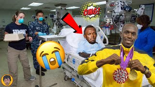 BREAKING NEWS   Usain Bolt Catch The BIG C Virus