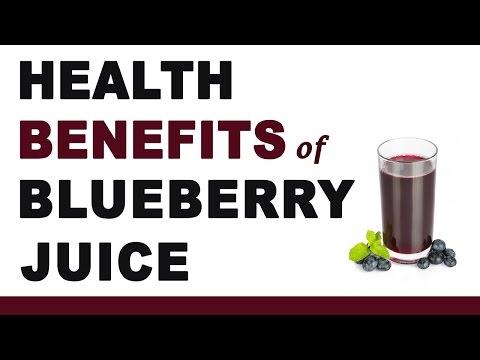 Blueberry Juice Health Benefits