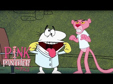 Pink Panther vs. Frankenstein | 35 Min Compilation | Pink Panther and Pals