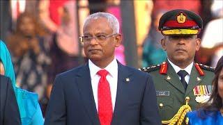 Maldives new president sworn in