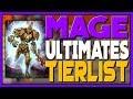 SMITE - Mage Ultimates Tierlist