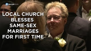 First ever same-sex renewal of vows at Episcopal Church of the Transfiguration