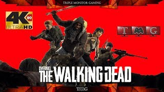 OVERKILL's The Walking Dead [4K@60fps]   Triple monitor gameplay 5760x1080