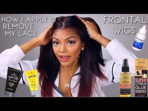 How I Secure & Remove My Lace Frontal Wigs