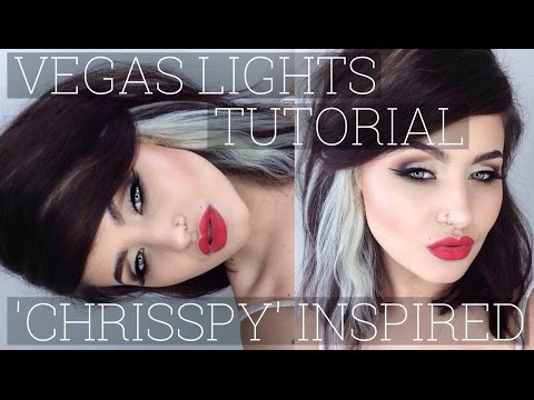 Vegas Lights Makeup Geek 'Chrisspy' Inspired Tutorial // Jamie Genevieve thumbnail