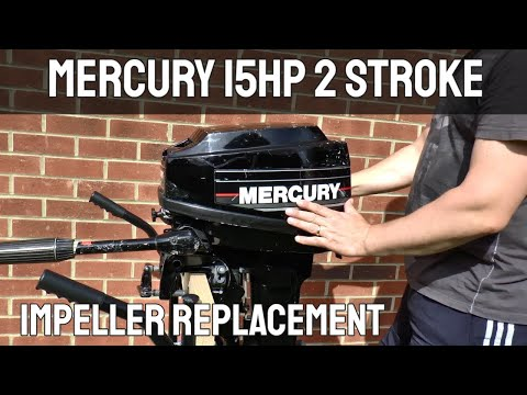 Mercury 15hp 2 Stroke Outboard Motor Impeller Replacement
