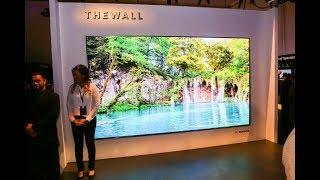 The Wall - Samsung's massive 146-inch modular Tv