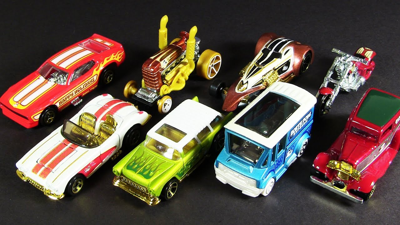 2012 holiday hot rods walmart exclusive christmas hot wheels die cast - Hot Wheels Cars 2012