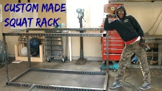Home Gym: Custom Made Squat Rack