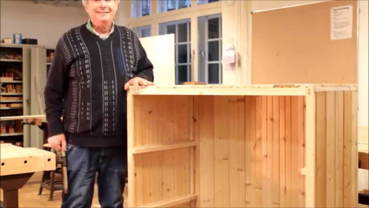 Sehr Wie baut man eine Transportkiste Teil 3 - YouTube ZK14