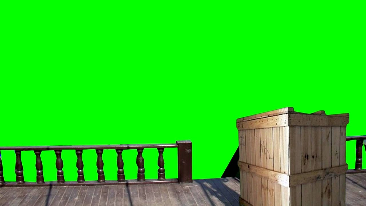 how to make green screen video on android