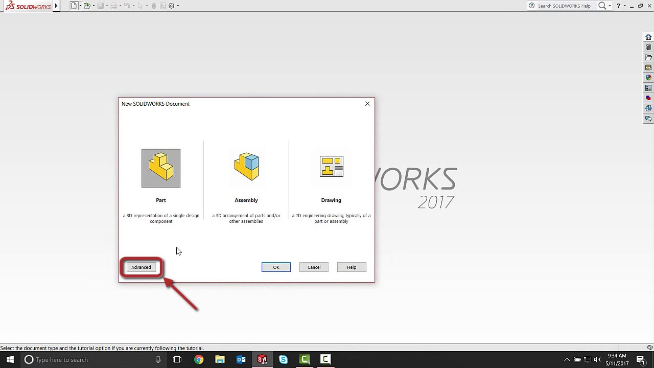 SOLIDWORKS 2018 - Setting File Locations for Templates - August 2017