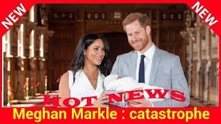 Meghan Markle: catastrophe, la pluie l'oblige à changer ses plans pour la photo de son royal baby