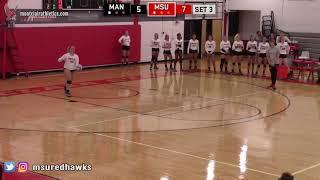 Montclair State Volleyball Highlights vs. Manhattanville - 10/5/18
