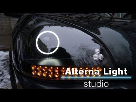 Hyundai Tucson Тюнинг передней и задней оптики