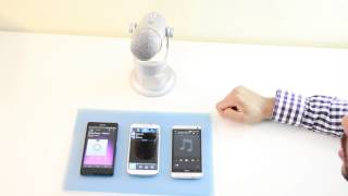 Galaxy S4 vs HTC One vs Xperia Z Audio Comparison