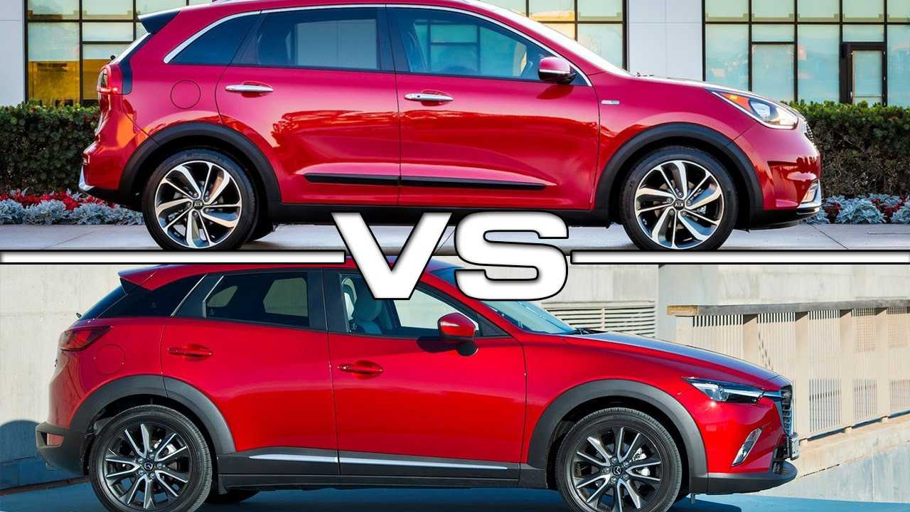 Kia Niro Vs Mazda Cx 3