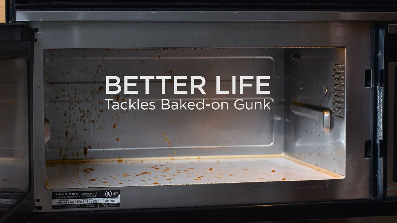 Better Life All Purpose Cleaner Tackles Dirty Microwave Cleaning