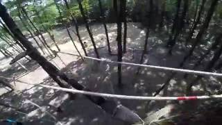 Веревочная лестница в лесу. Видео прохождения.(Веревочная лестница в лесу. Видео прохождения. Грунівська Січ, Слобожанщина., 2016-08-03T19:07:36.000Z)