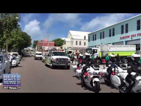 BFRS Honours Dawayne Smith With Procession, August 26 2015