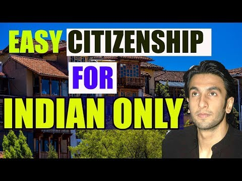 6 EASIEST Countries Where Getting Citizenship is very easy for INDIAN.भारतीय के लिए आसान नागरिक सेवा