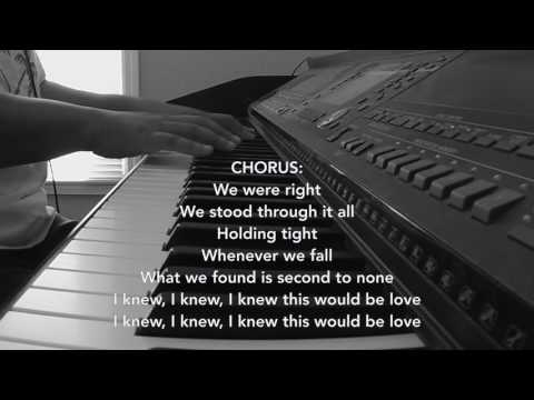 Imaginary Friend- I Knew This Would Be Love (Piano Cover by Jen Msumba)