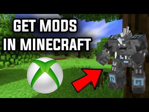 How To Get *MODS* On Minecraft Xbox One! (WORKING 1.13)