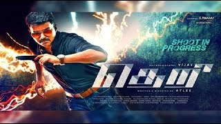 theri title first look posters people reactions emotions ilayathalapathy vijay