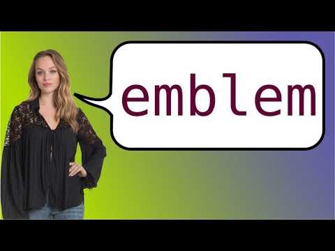 Como Dizer Emblema Em Ingles Youtube