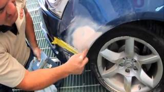 How to repair a Dent and a Scratch in your paintwork