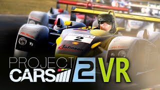 Project Cars 2 VR gameplay with HTC Vive - Realistic racing simulator