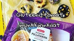 Gluteenittomat munkit helposti