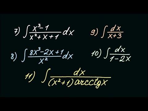 Первообразная функции - РЕШЕНИЕ ПРИМЕРОВ - Алгебра 10 и 11 классиз YouTube · Длительность: 4 мин55 с