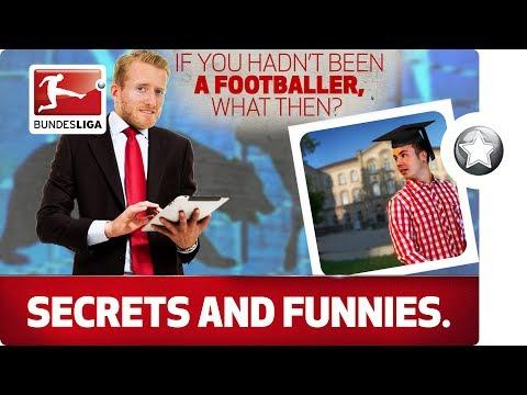 Schürrle the Broker, Müller the Reporter: The Alternative Jobs of the Bundesliga's Stars.