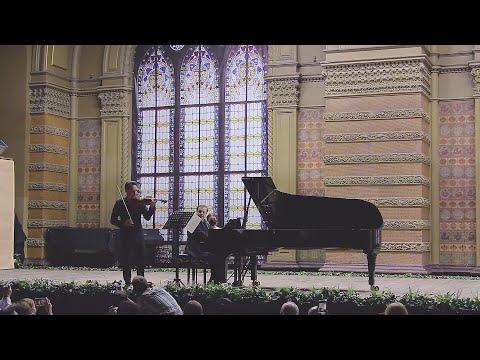 Bartók - Romanian Folk Dances (fragment). Linus Roth and Alexey Botvinov at Odessa Classics 2020