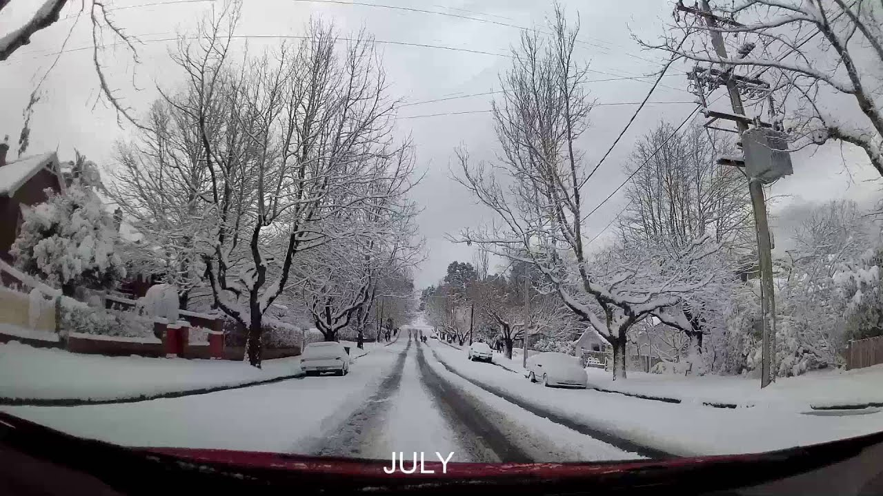 Snow Driving Australia - Winter 2015 - YouTube