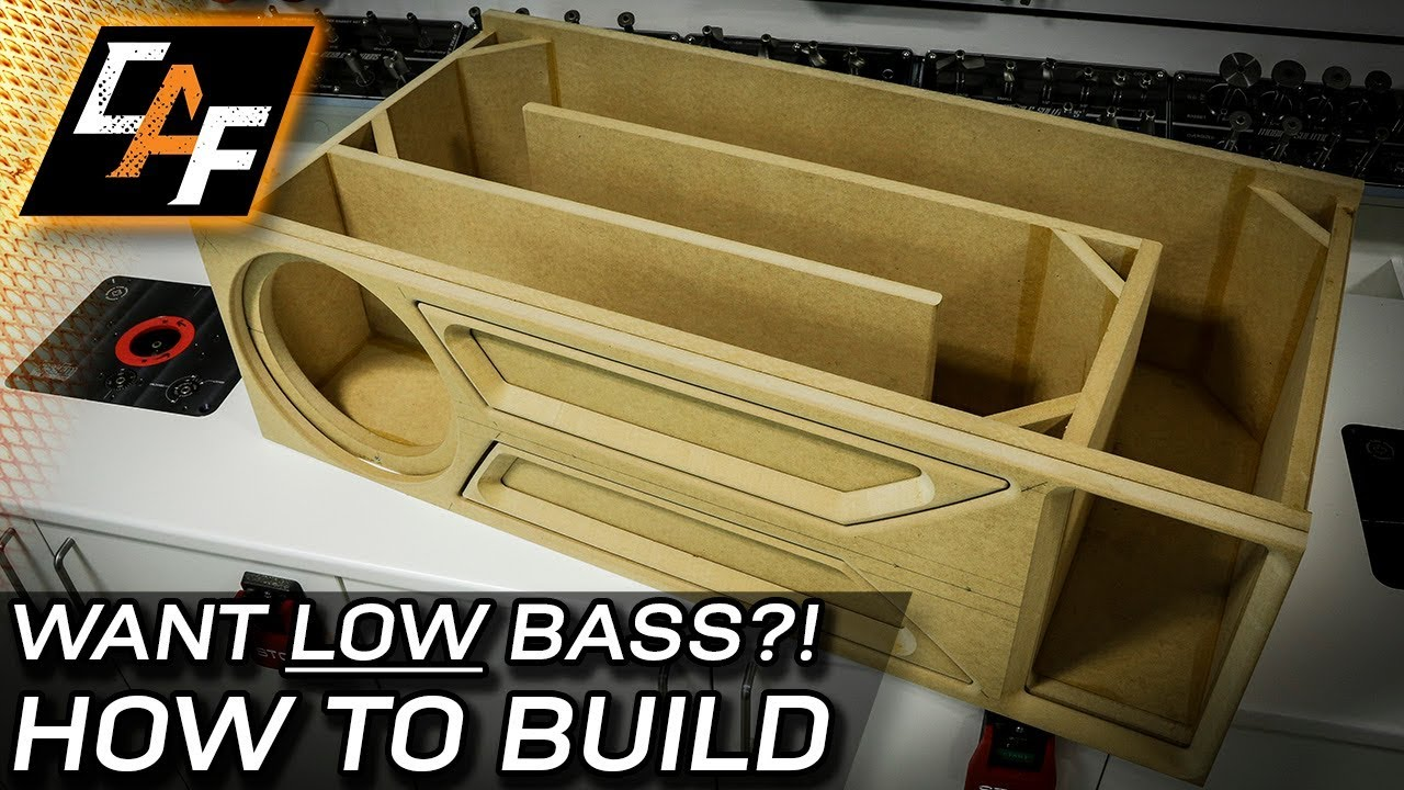 Using the SFS Kit to build a custom T-Line Subwoofer