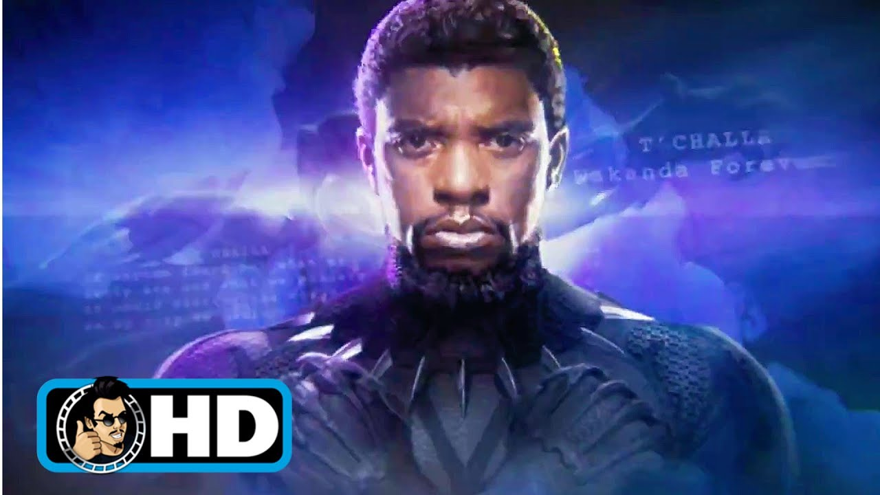 Download BLACK PANTHER | Marvel's New Opening Logo Tribute for Chadwick Boseman