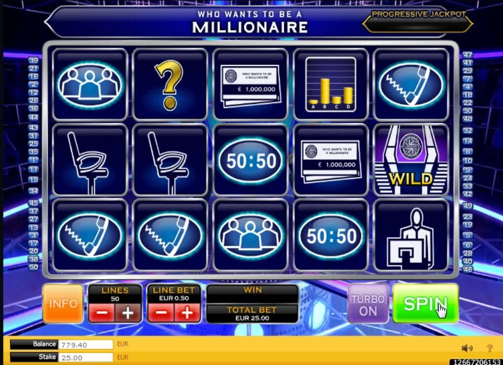 Who Wants To Be A Millionaire Slot