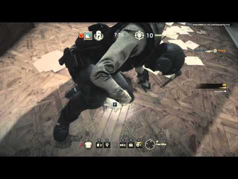 Rainbow Six Siege Cooperative Gameplay