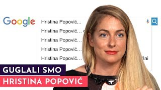 Hristina Popović: Ne idem više na žurke, imam traume iz detinjstva! | GUGLALI SMO | S01E38
