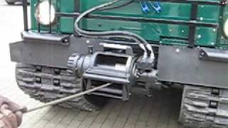 Repeat youtube video Hagglund BV206 with crane 2nd