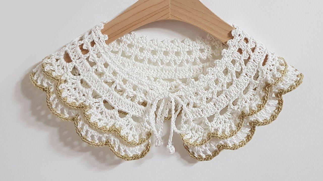 #146 Crochet collar - 아이 케이프[Eng]