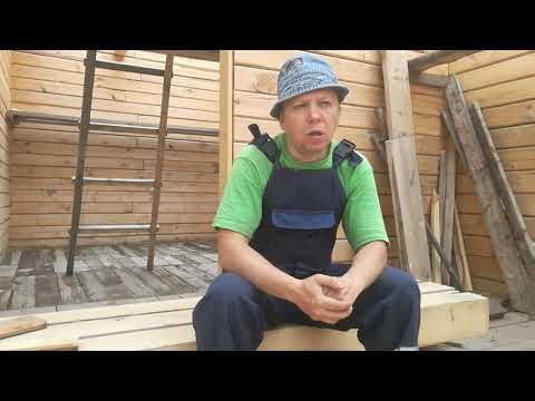 Почему я решил строить из обычного лохматого бруса