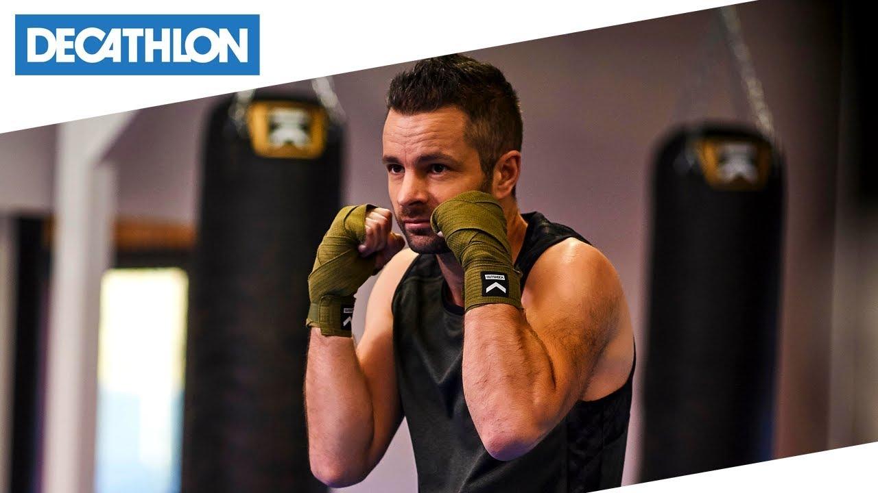 pacchetto alla moda e attraente in vendita sito autorizzato Come indossare le fasce da boxe da 3.5m | Decathlon Italia