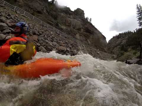 Swim from hell on Clear Creek Narrows