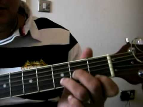 When The Smoke Is Going Down Guitar Lesson