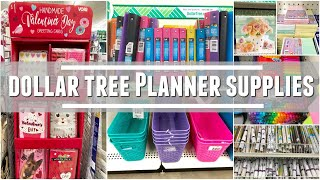 DOLLAR TREE   SHOPPING FOR PLANNER SUPPLIES